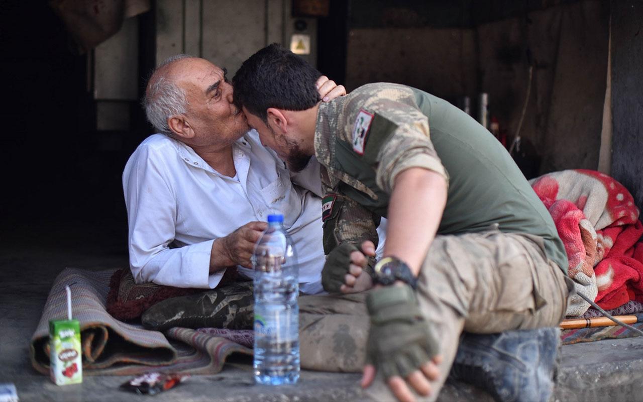 Suriye'den duygulandıran görüntüler halk SMO'yu böyle karşıladı