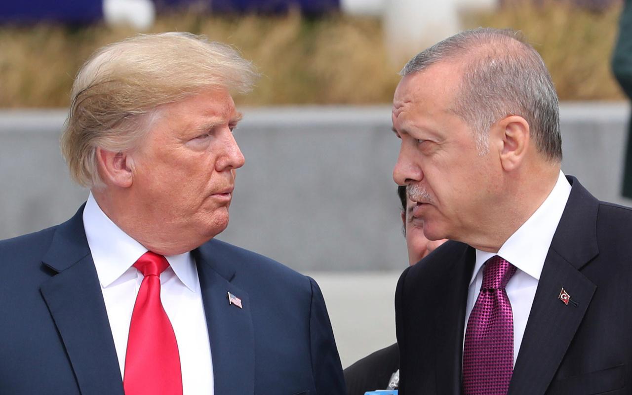 Trump'ın mektubuna Ankara'dan yanıt! Erdoğan reddedip çöpe attı