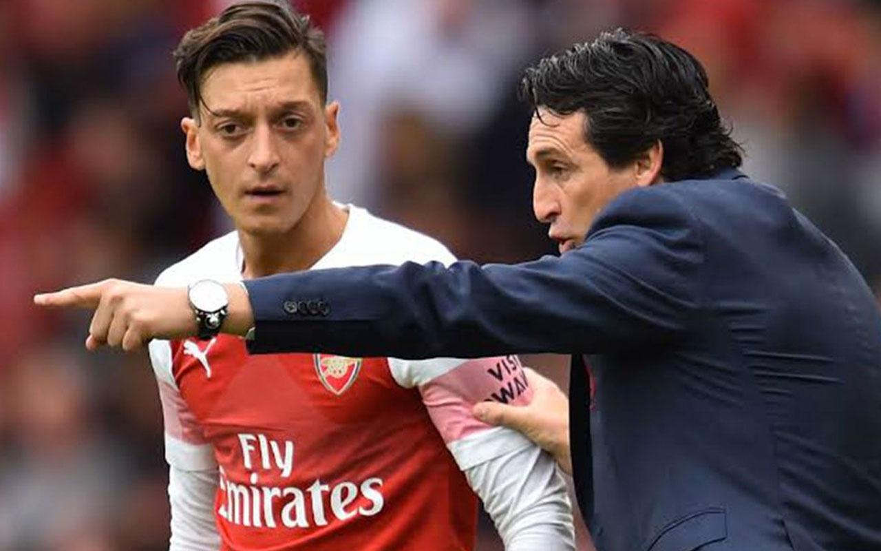 Unai Emery'den Mesut Özil'e açık kapı