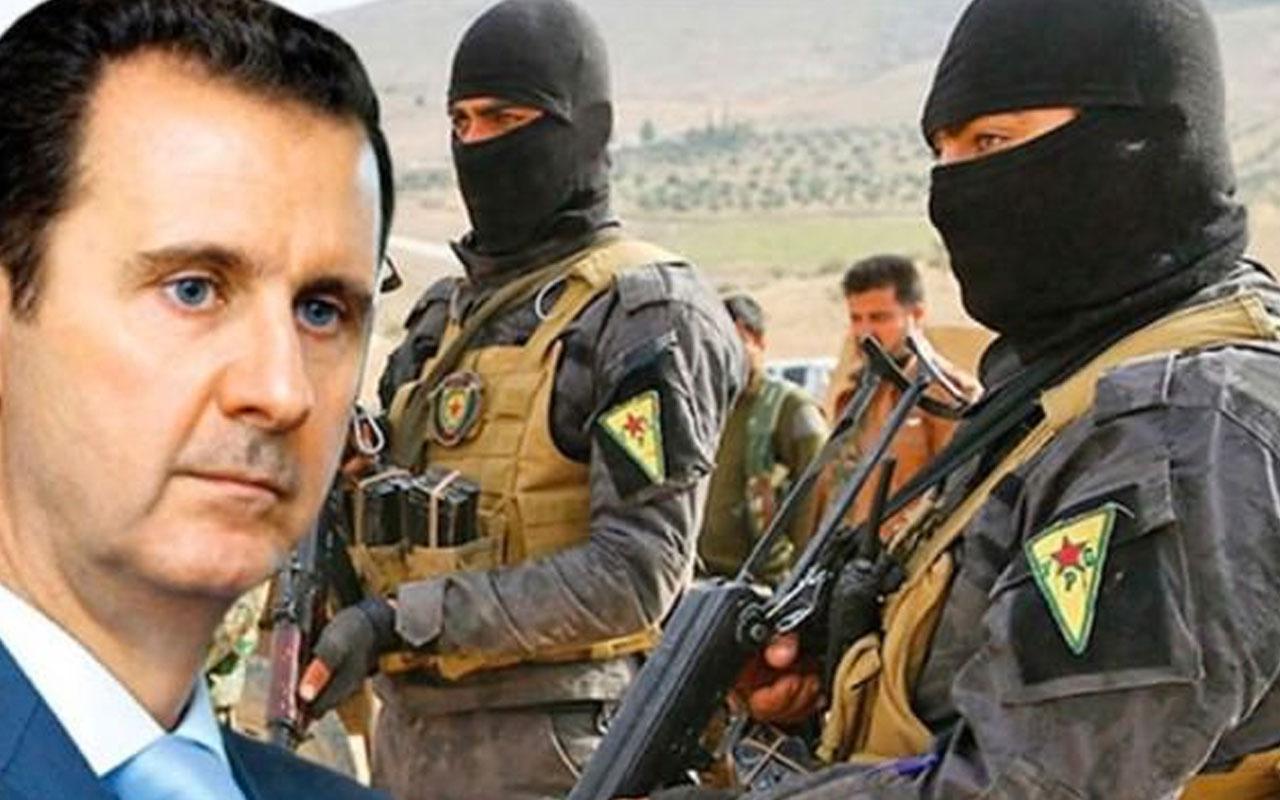 Suriye'de PKK kurnazlığı Esed kamuflajıyla görüntülendiler