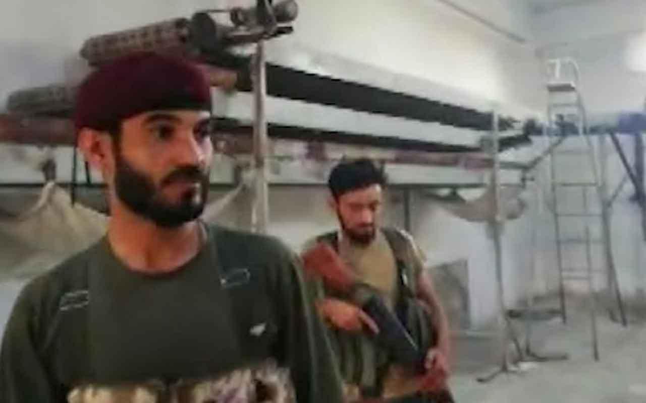 SMO askerleri Rasulayn'da fırın açtı sivillere ekmek yaptı
