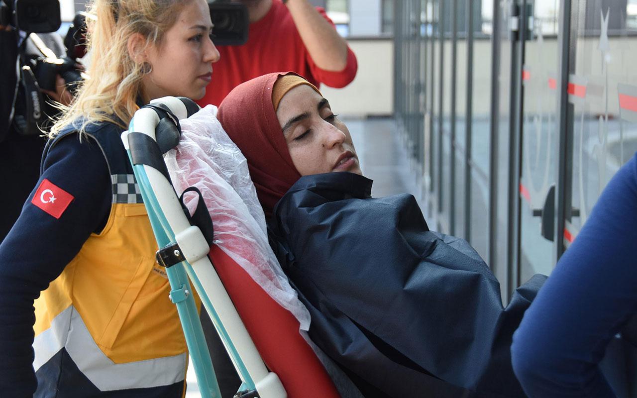 Eskişehir'de yabancı uyruklu anne ve kız Porsuk Çayı'na düştü