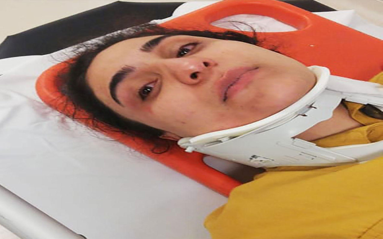 Kayınpeder, torununun gözü önünde gelinini dövdü: Sürükledi, tekme attı, defalarca yumrukladı!