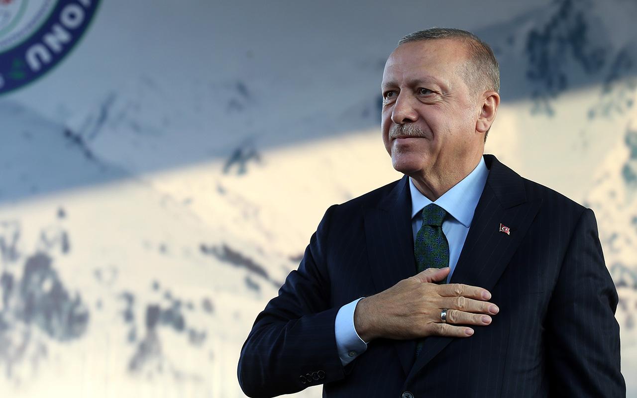 Cumhurbaşkanı Erdoğan: 9 günde 1500 kilometrekarelik alanı zulümden kurtardık