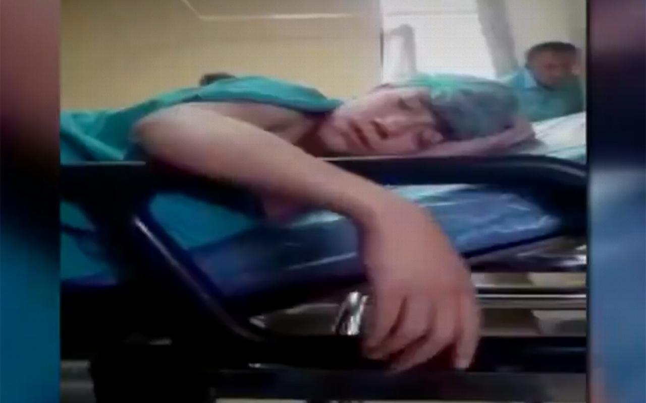 Ankara'da bir genç narkozun etkisiyle şehit olduğunu sandı