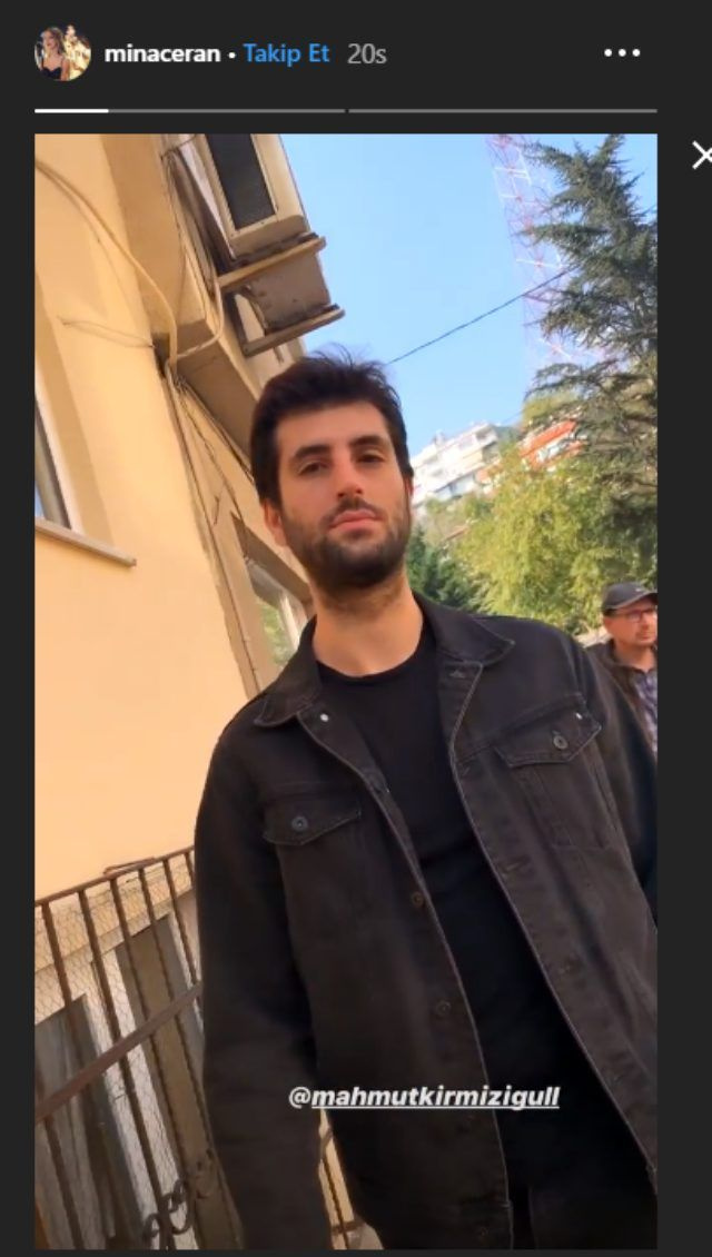 Mahsun Kırmızıgül'ün oğlu Mahmut Kırmızıgül Melis Sezen'le cilveleşirken takipçileri yakaladı