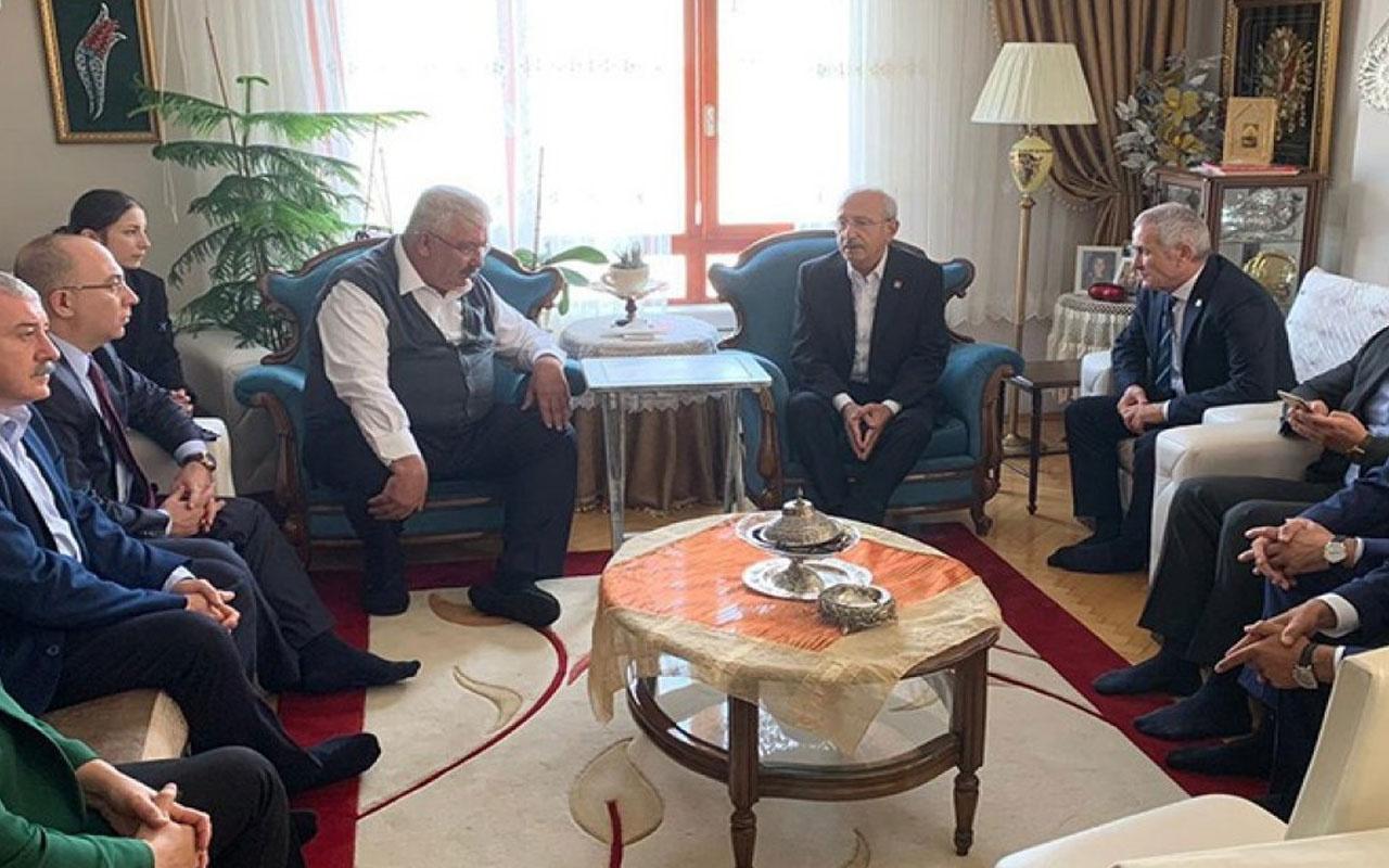 Kılıçdaroğlu'ndan Semih Yalçın'a taziye ziyareti!