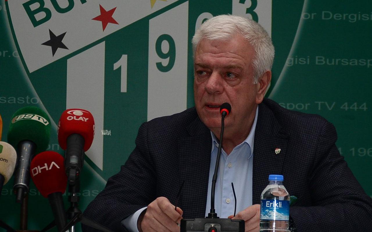Bursaspor'da eski başkan Ali Ay kulüpten ihraç ediliyor