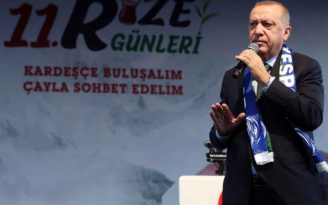 Cumhurbaşkanı Recep Tayyip Erdoğan : Sigara haramdır