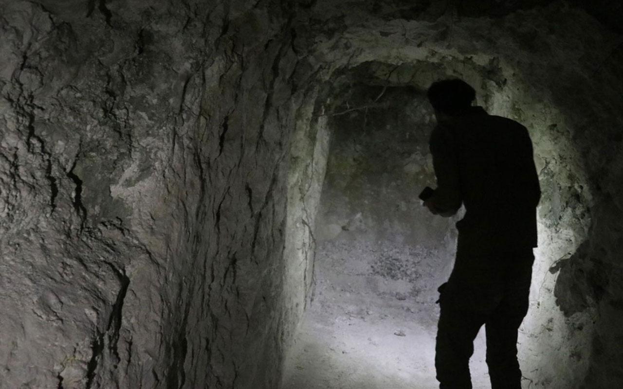 Rasulayn'da ortaya çıkarıldı tünel sistemini görenler şaştı kaldı