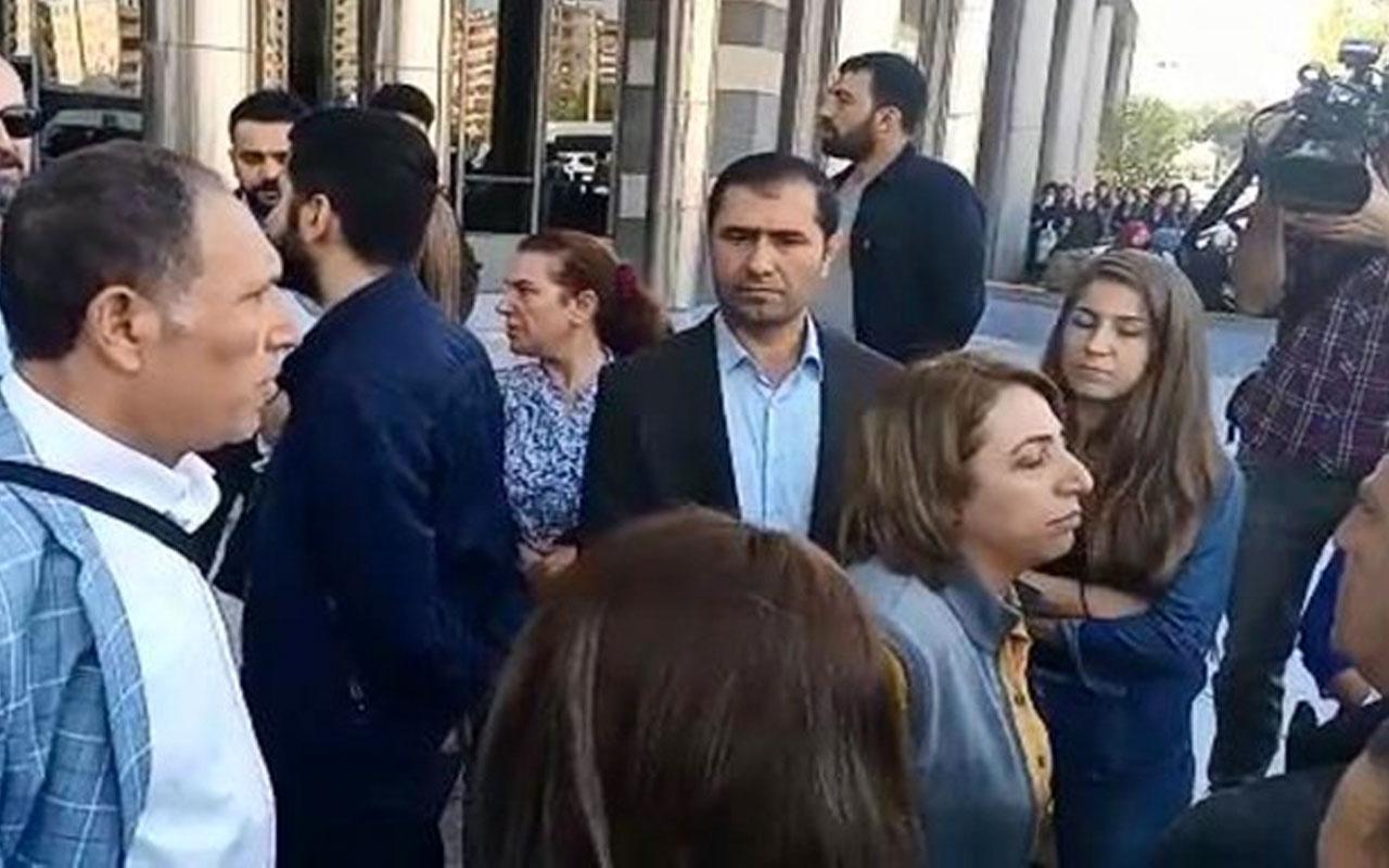 Önce kol ısırdı sonra tekme attı HDP'li vekil Saliha Aydeniz'in son marifeti