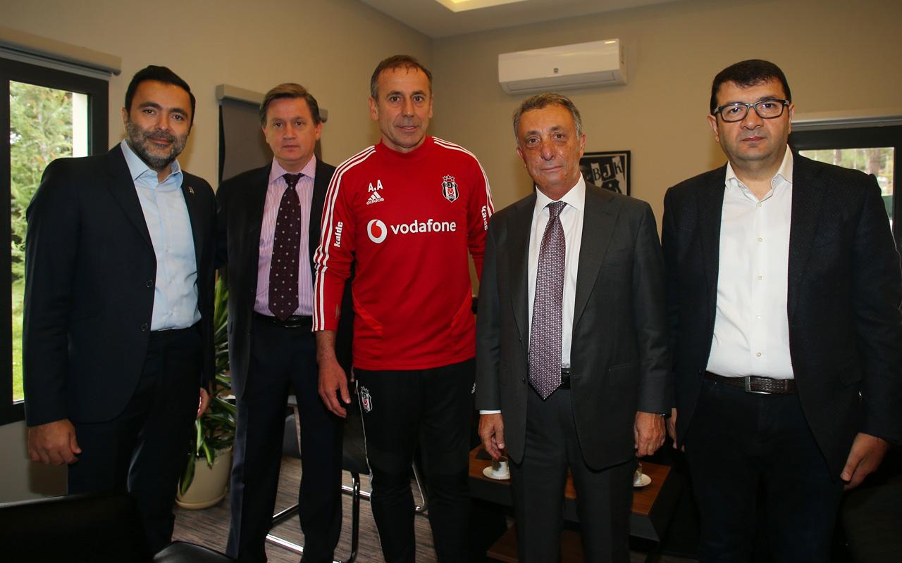 Ahmet Nur Çebi, Abdullah Avcı ile görüştü