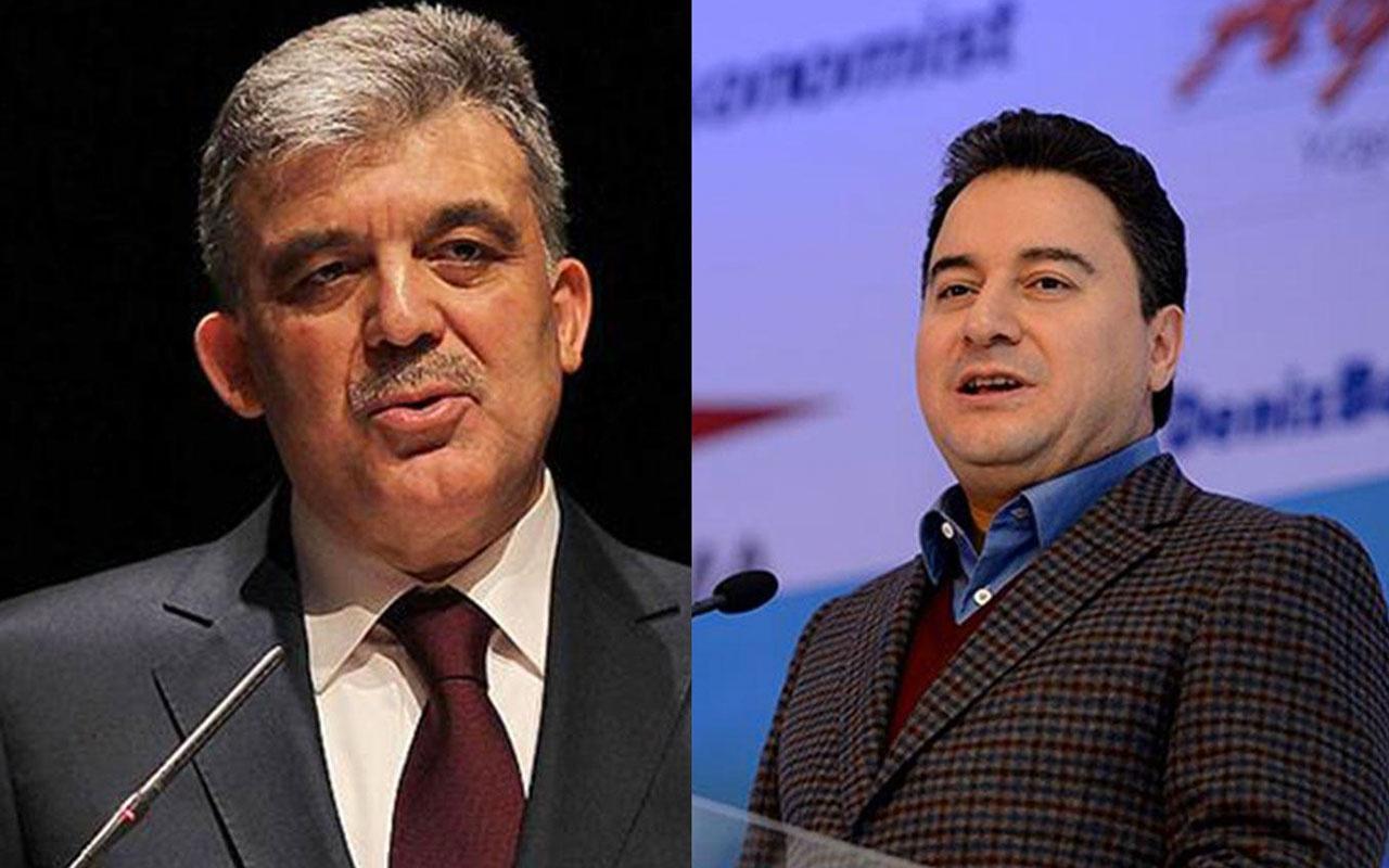 Ali Babacan'ın kuracağı yeni partide bomba iki eski bakan iddiası Abdullah Gül devrede