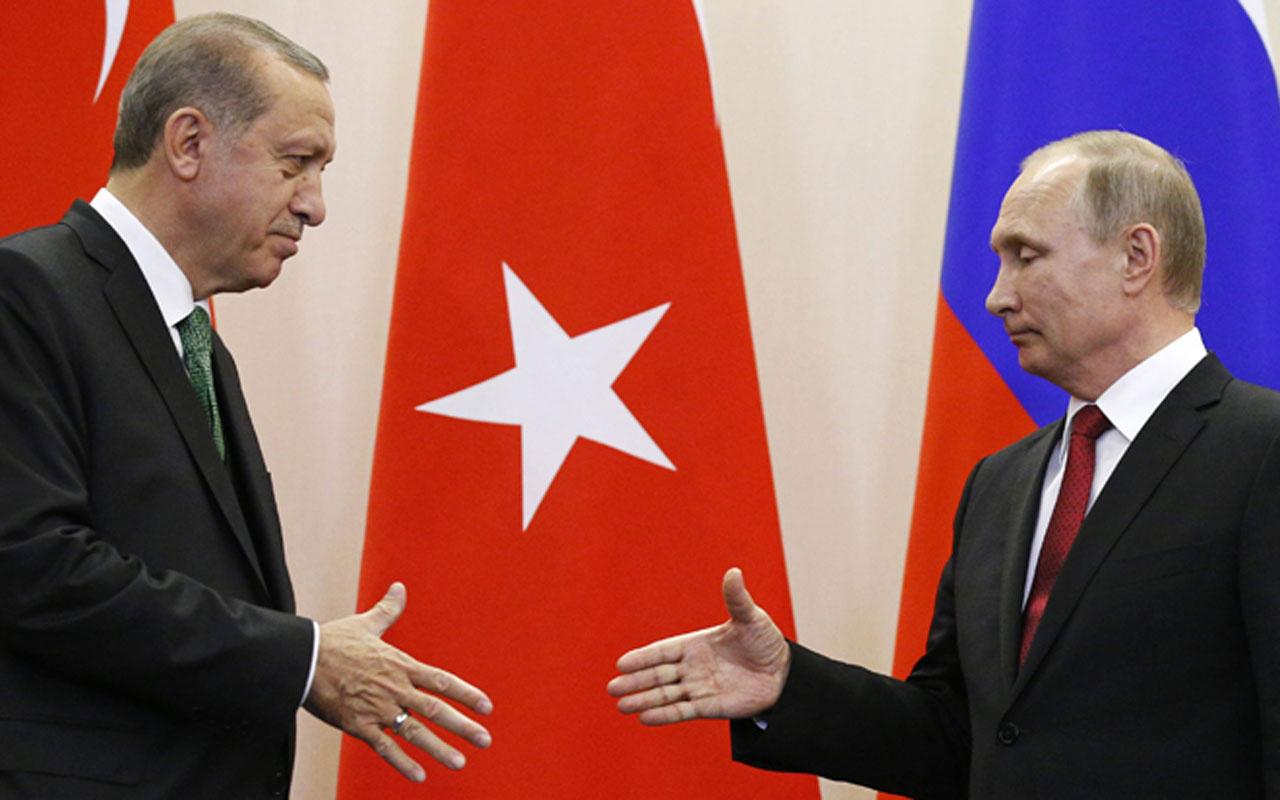 Erdoğan ile Putin'in samimiyeti İngilizlerin dikkatinden kaçmadı