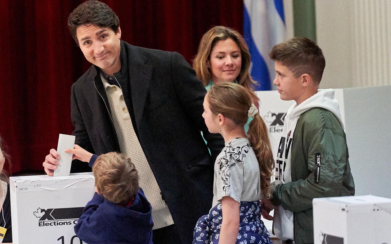 Kanada'da Justin Trudeau'nun partisi galip oldu ama çoğunluğu sağlayamadı