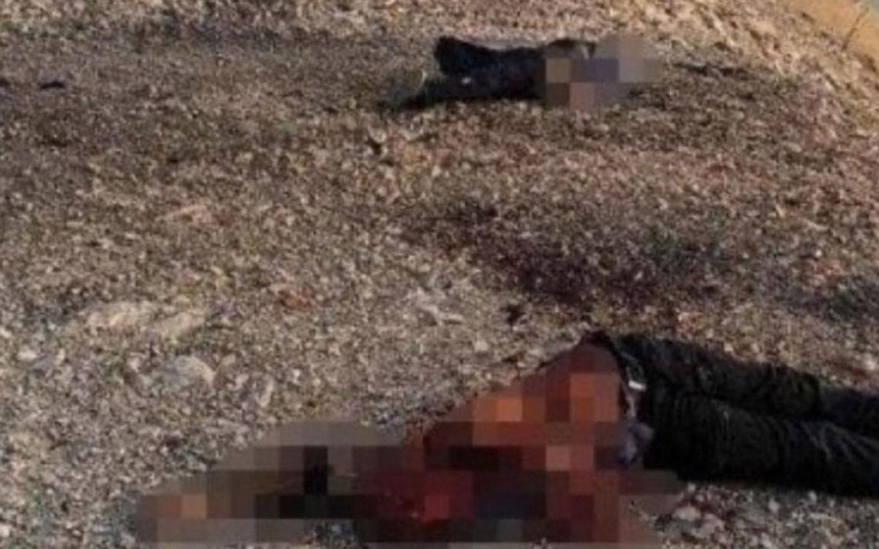 Suriye'de YPG'li teröristler Demhat Egit ve Cemil Amed öldürüldü