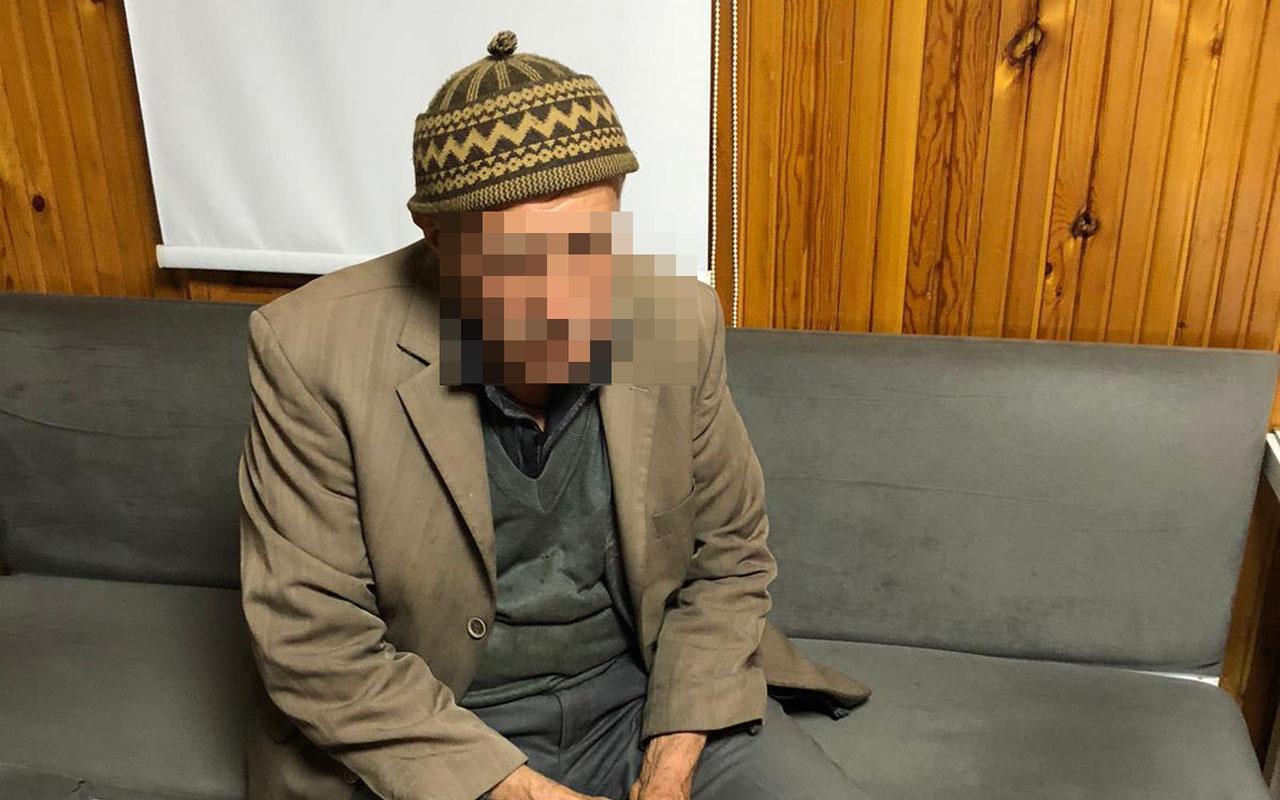 91 yaşındaki dilencinin üzerinden 2 bin 500 lira para çıktı