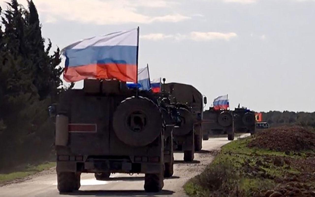 Rusya Savunma Bakanlığı harita yayınlayıp duyurdu! Suriye'de yeni gelişme