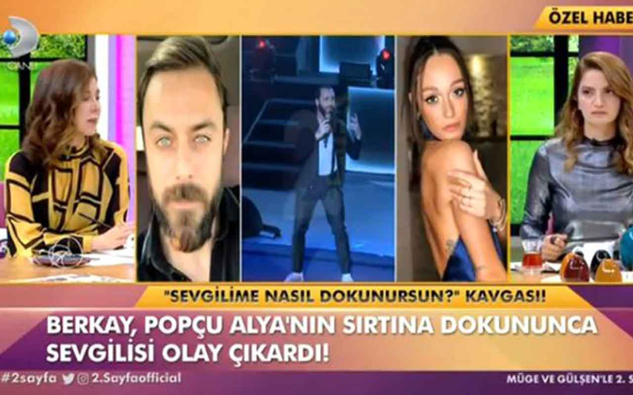 Berkay Şahin, şarkıcı Alya'nın sırtına dokunduğu için oyuncu Eren Hacısalihoğlu ile tartıştı