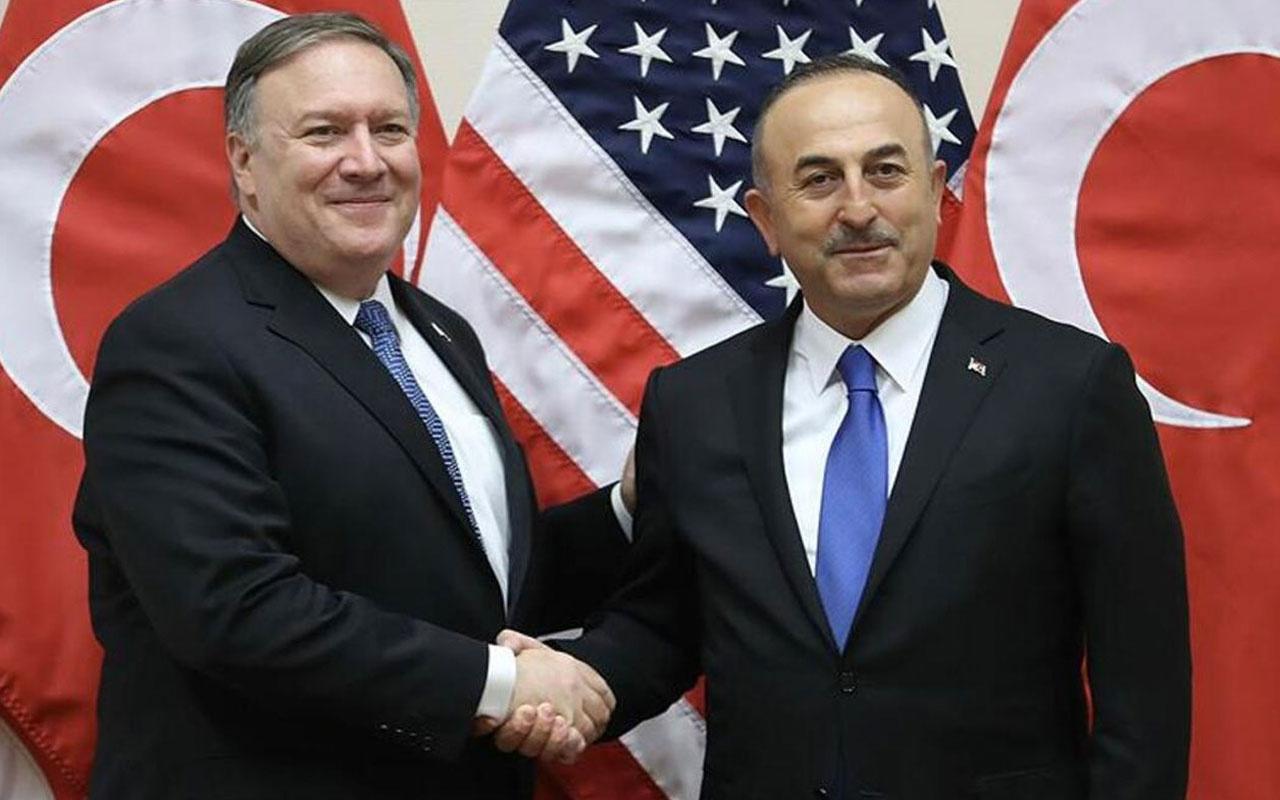 Dışişleri Bakanı Mevlüt Çavuşoğlu, Pompeo ile bir araya geldi