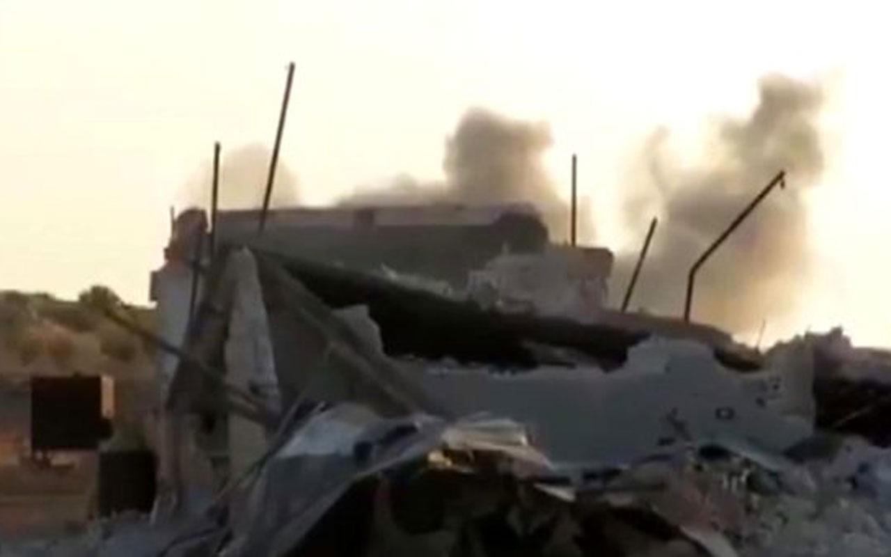 YPG'ye verilen süre başladı! Rus savaş uçakları bombardımana başladı