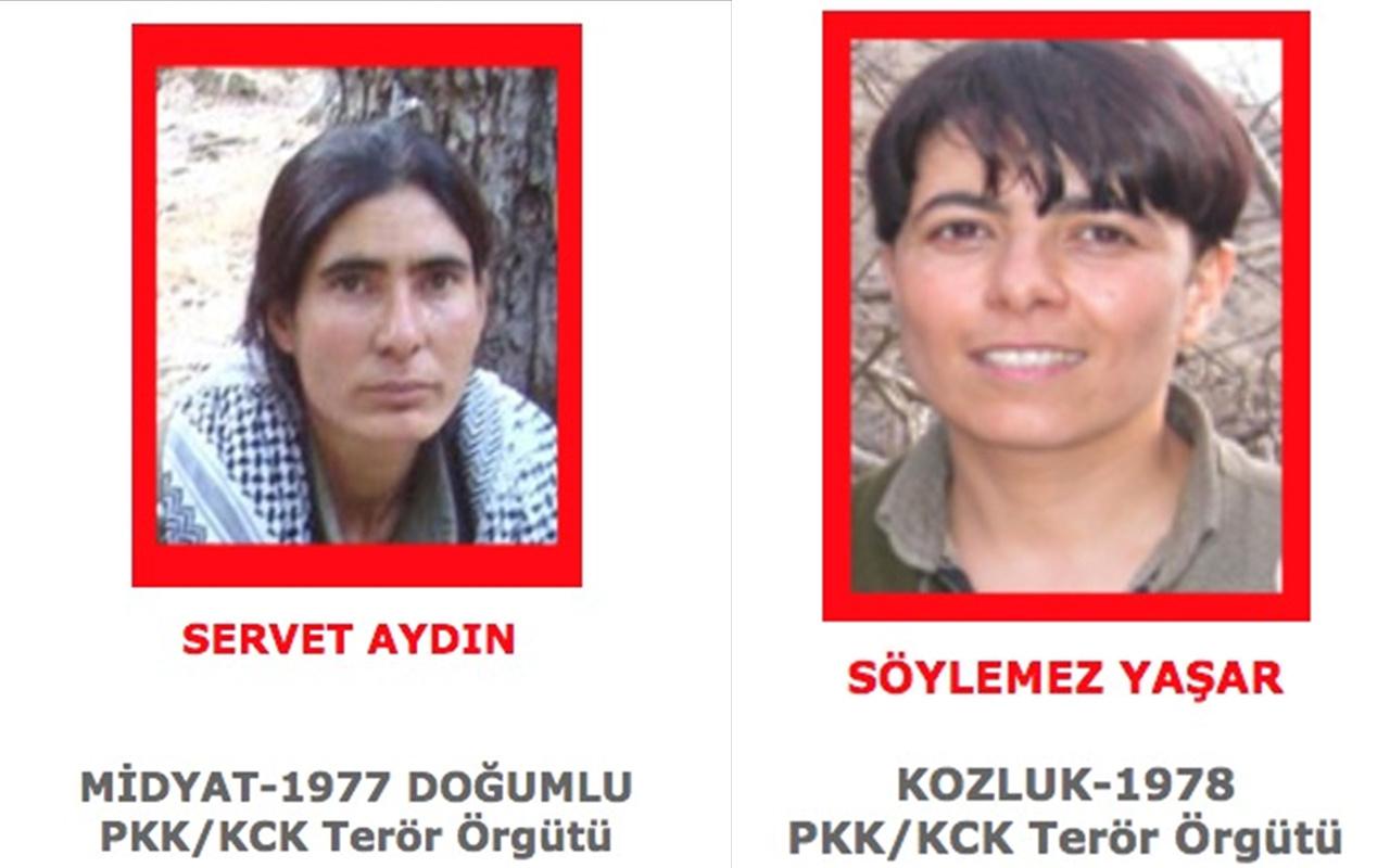 Kırmızı listedeki 2 terörist MİT ve TSK'nın ortak operasyonuyla öldürüldü