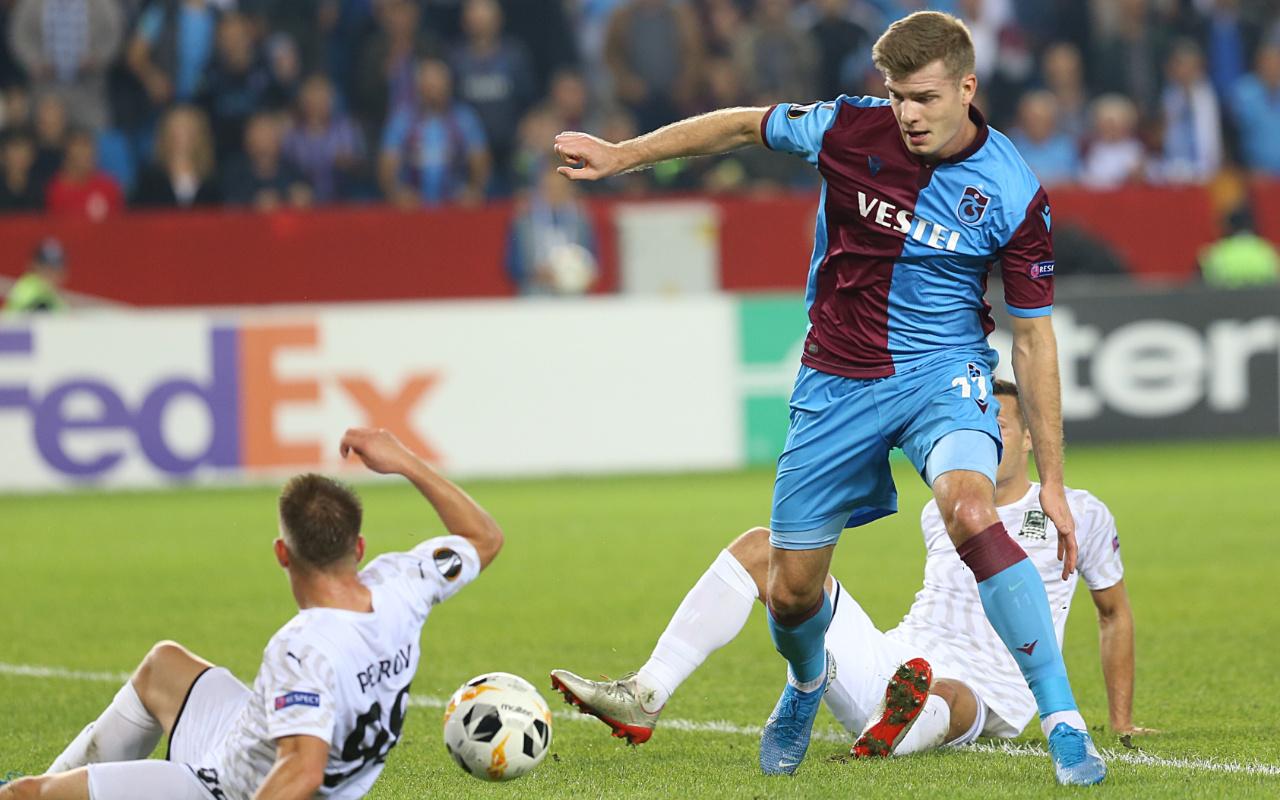 Trabzonspor Krasnodar UEFA Avrupa Ligi maçı golleri ve geniş özeti