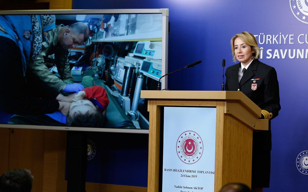 Barış Pınarı Harekatı'nda son durum MSB paylaştı