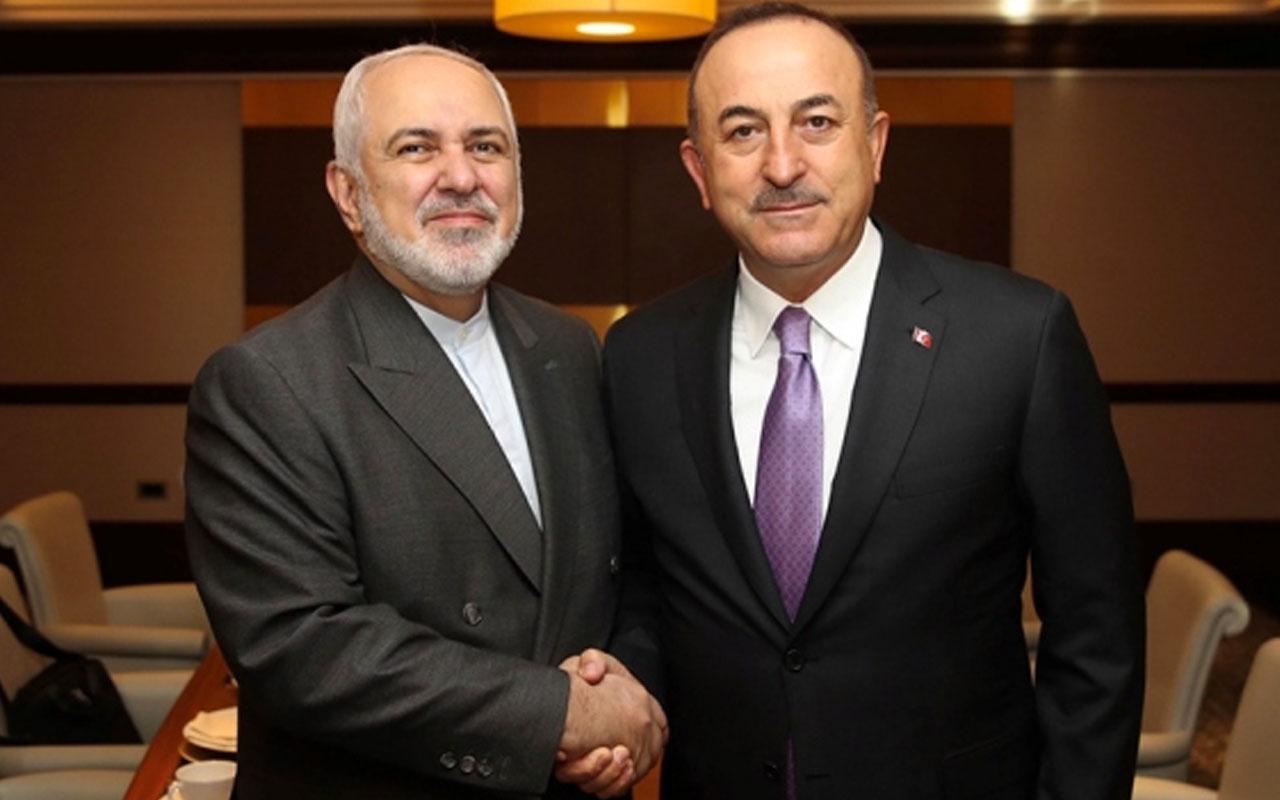 Türkiye ve İran'dan önemli görüşme! Çavuşoğlu ile Zarif bir araya geldi