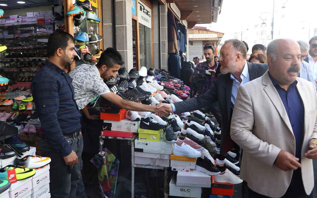 Diyarbakır'da şehit babasından, HDP'li Temelli'ye tepki