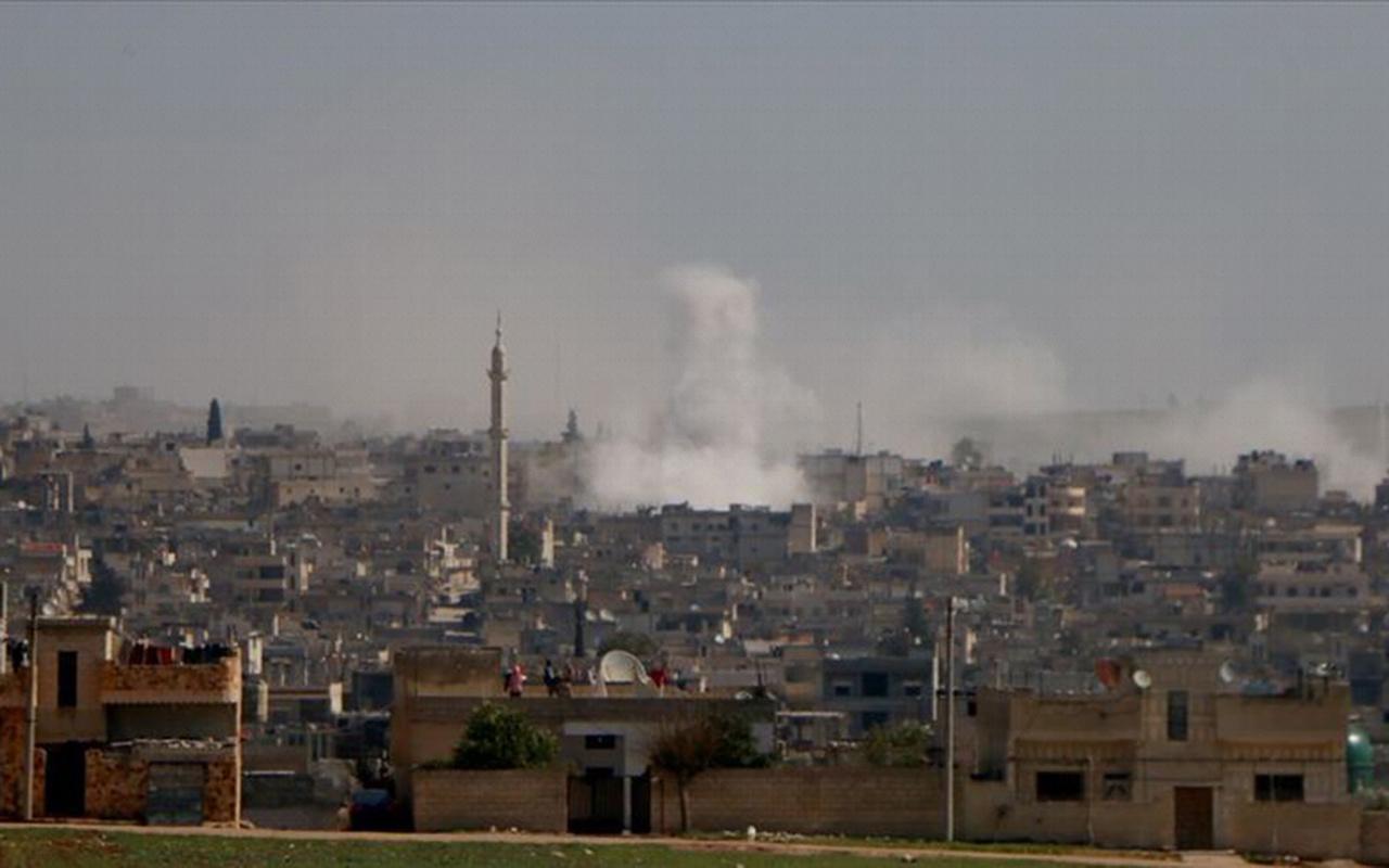 Esed rejimi İdlib'de pazar yerine saldırdı 7 ölü
