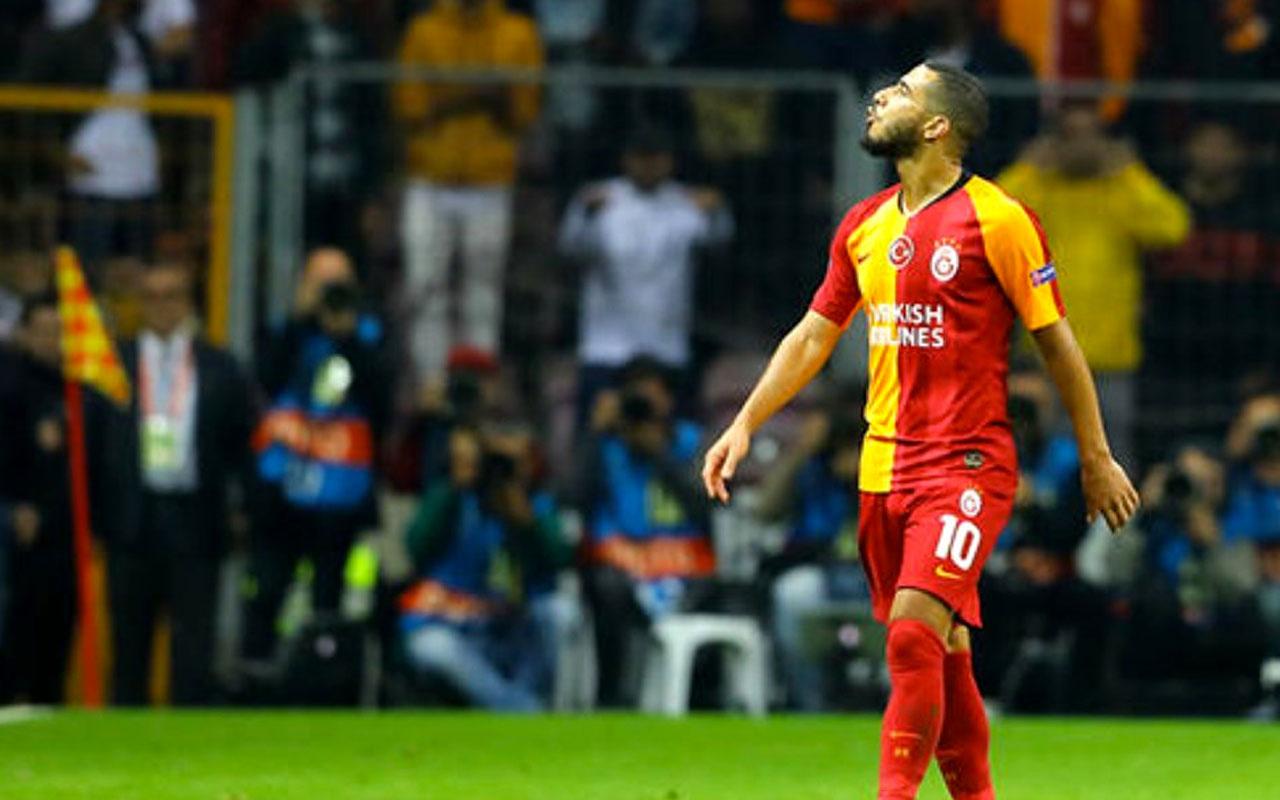 Younes Belhanda geri vites yaptı taraftardan özür diledi