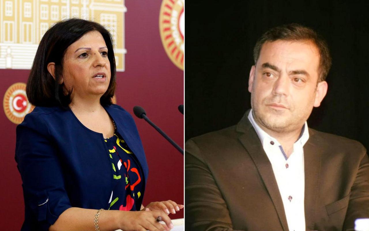 Selahattin Demirtaş'ın kardeşi ile HDP'li Fatma Kurtulan arasında olay kavga
