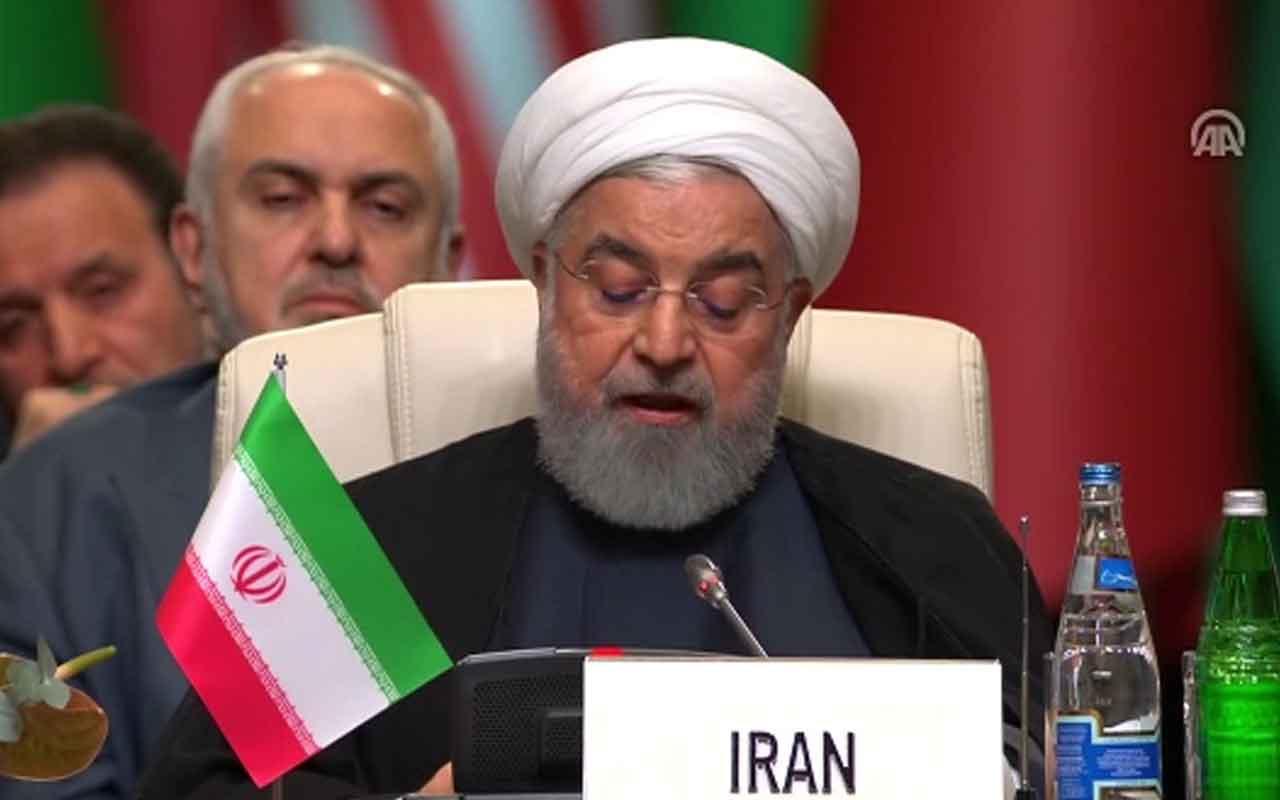 """Ruhani: """"ABD'nin yaptığı ekonomik teröre eş değer"""""""