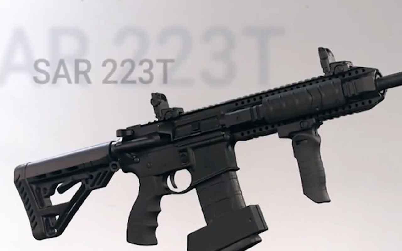 Savunma Sanayii Başkanlığı Twitterden paylaştı 3 koldan milli tüfek teslimatı