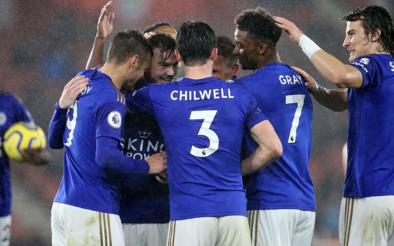Leicester City Southampton'ı 9-0 yendi Premier Lig'de tarihe geçti