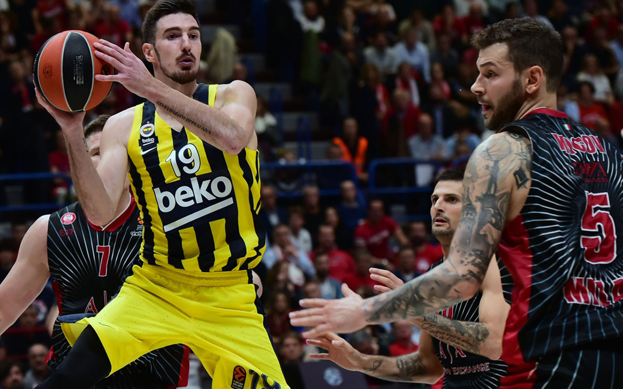 Fenerbahçe Beko Milano'da hayal kırıklığına uğrattı