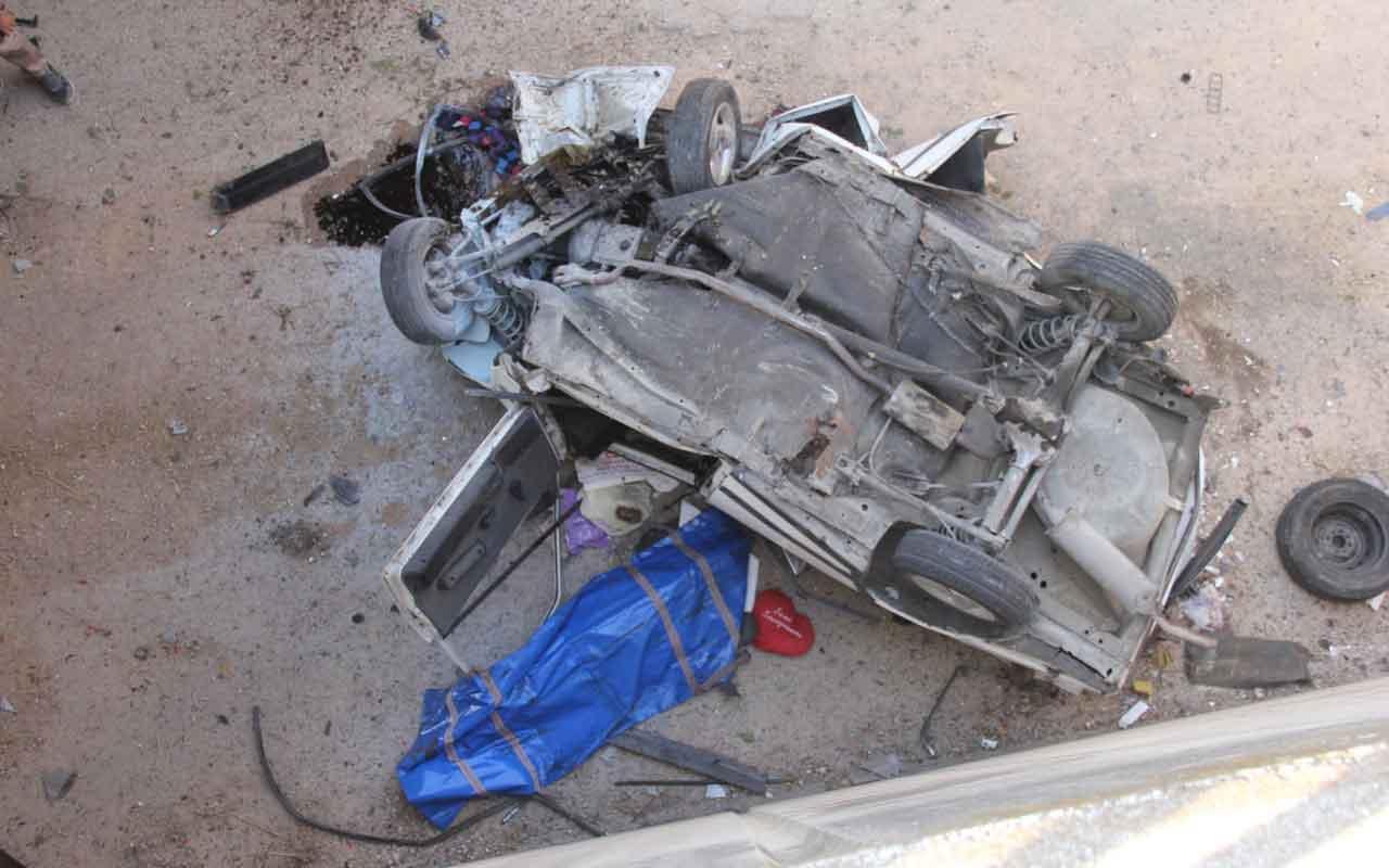 Adana'da otomobil alt geçide düştü: 1 ölü, 3 yaralı