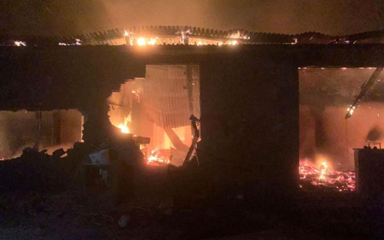 Giresun'da korkunç yangın: Baba ile oğlu feci şekilde can verdi