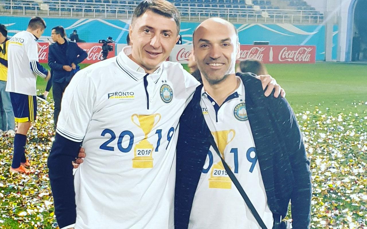 Şota Arveladze Özbekistan'da tarih yazdı! İki kupa birden