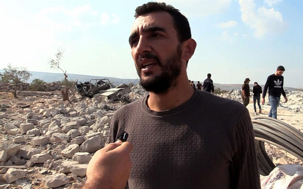 İdlib'de Bağdadi'nin ölü ele geçirildiği operasyonun görgü tanıklarına ulaşıldı