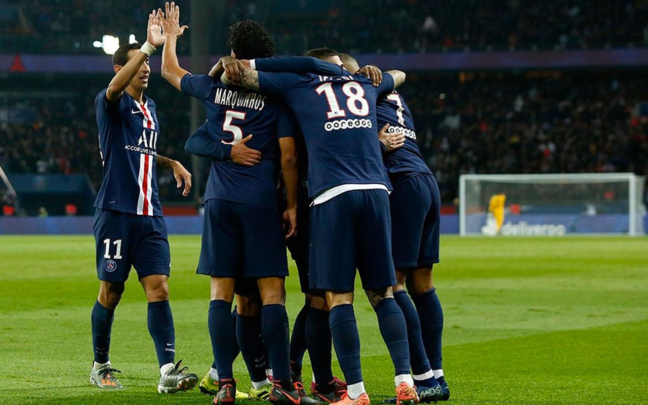 PSG Marsilya'yı gole boğdu