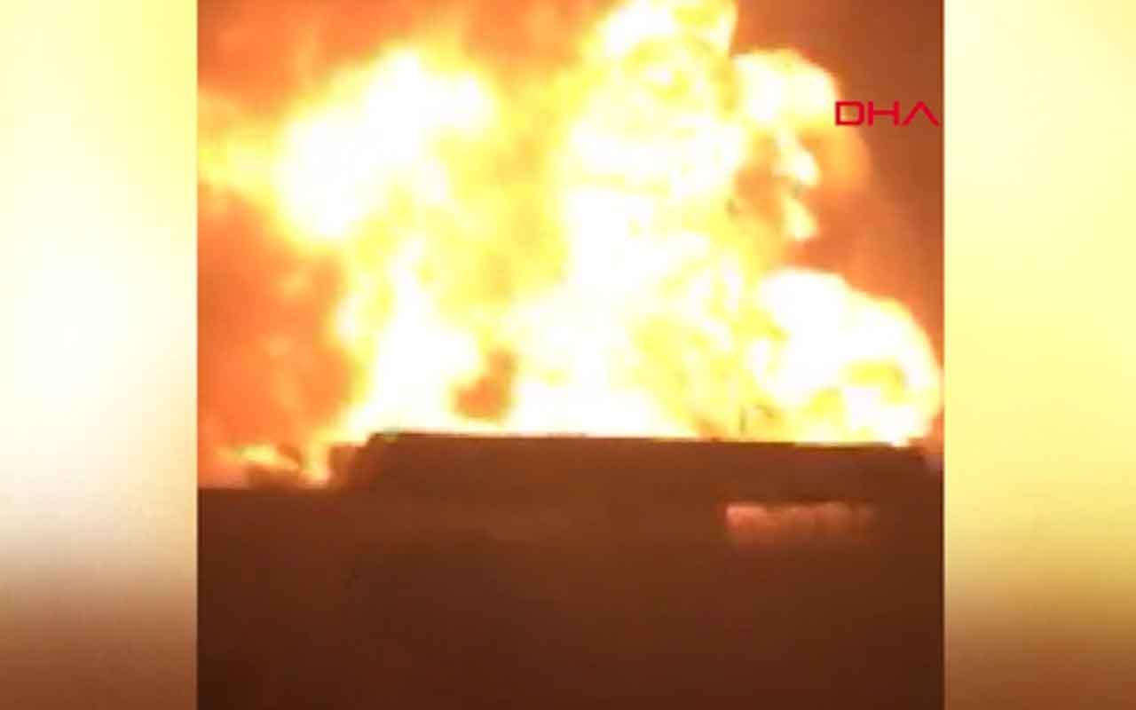 Gambiya'da oksijen gazı fabrikasında yangın