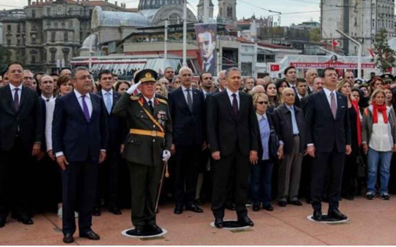 Sezgin Tanrıkulu'nun Taksim'deki 29 Ekim töreninde protokol merakı