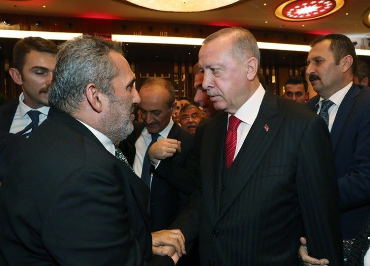 Cumhurbaşkanı Erdoğan'ın '29 Ekim Cumhuriyet Bayramı' davetine kimler katıldı