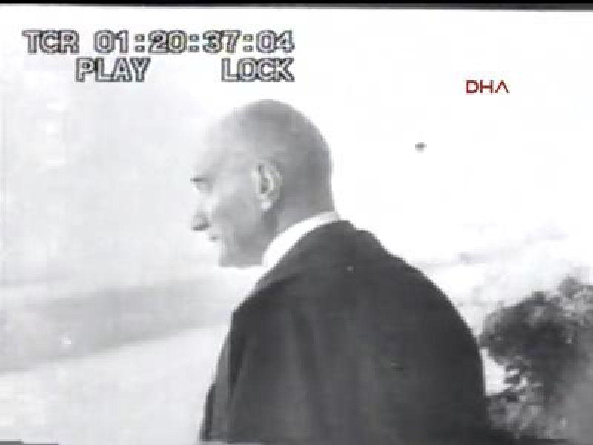 TSK Atatürk'ün 29 Ekim kutlamalarındaki görüntülerini paylaştı! İşte o görüntüler