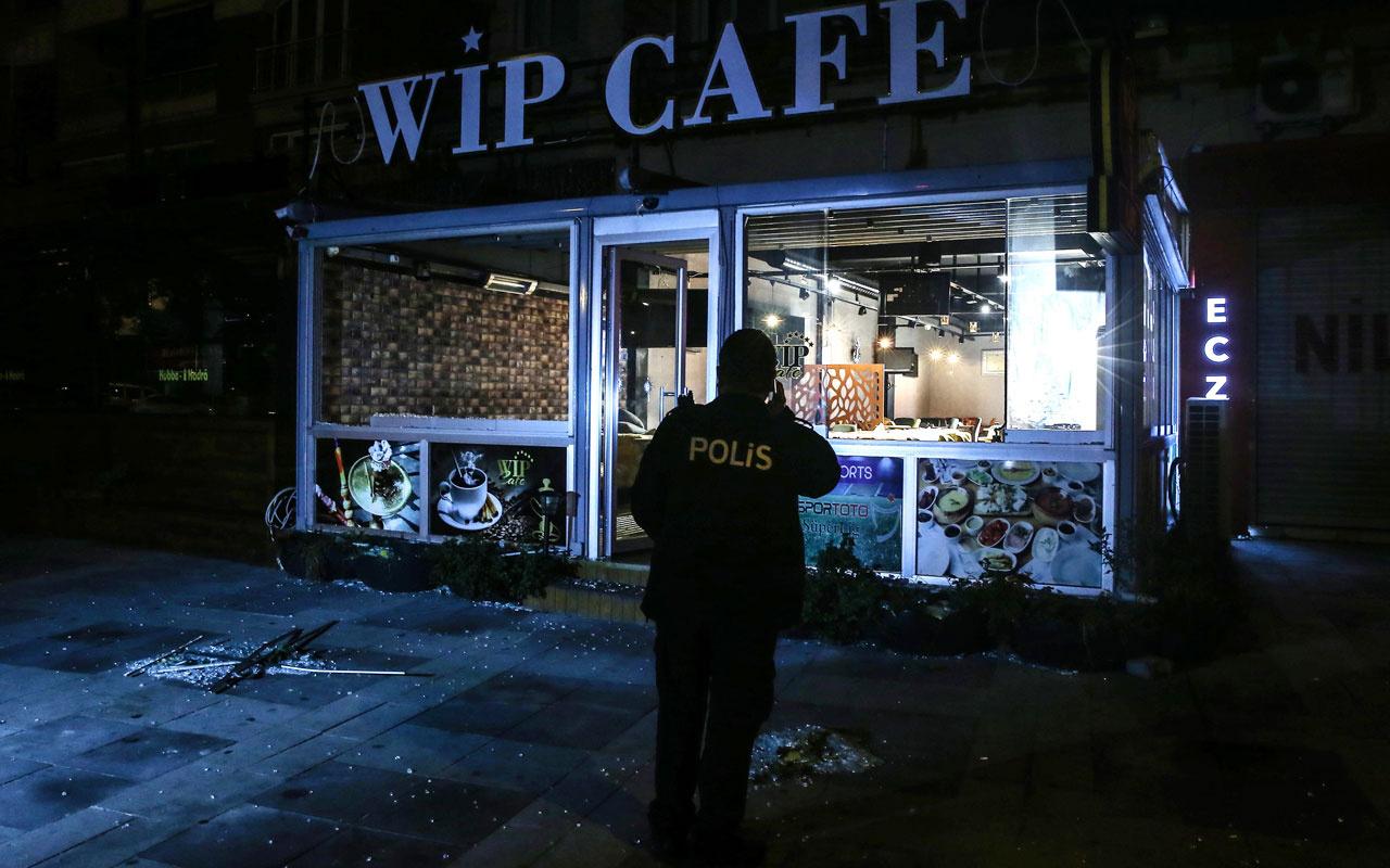 Bağcılar'da 2 kafeye silahlı saldırı düzenlendi