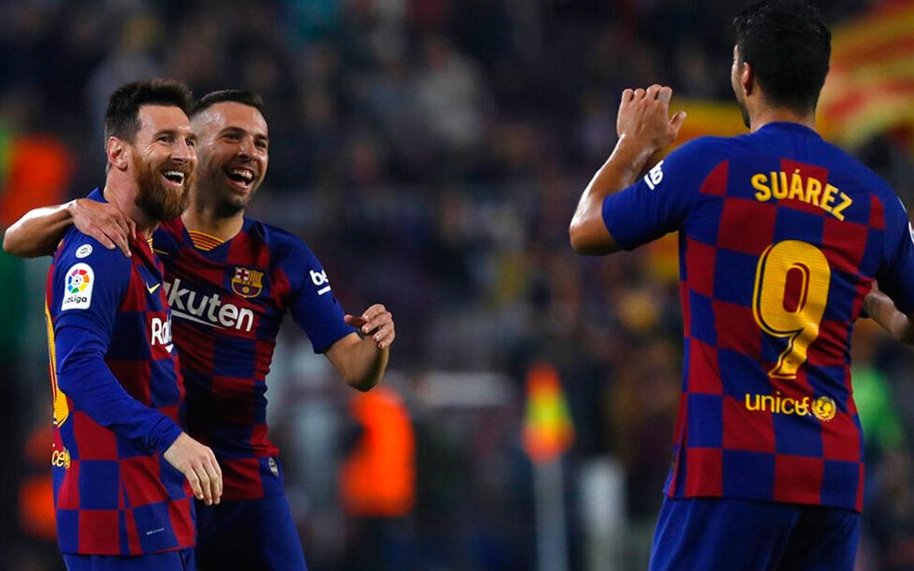 Barcelona, Valladolid'i farklı yendi