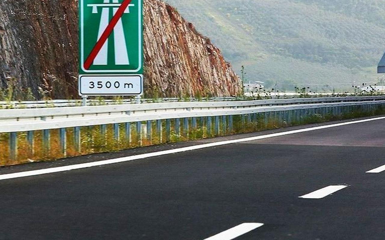 Menemen-Aliağa-Çandarlı Otoyolunda 50 km'lik kısım hizmete girdi