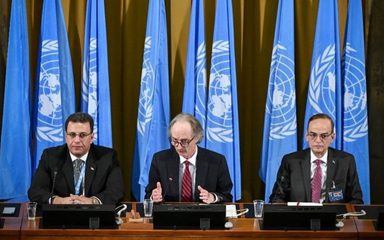 Suriye Anayasa Komitesi toplantısı başladı